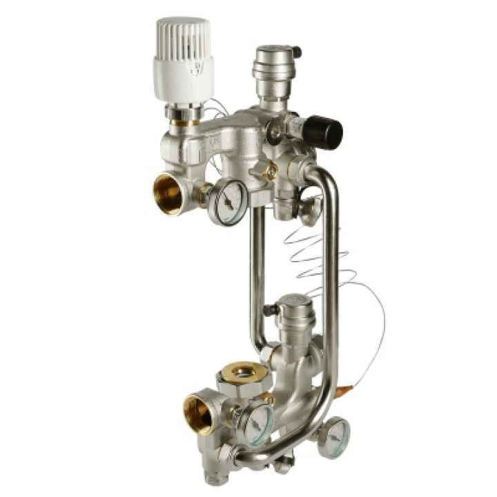 Насосно-смесительный узел для теплого пола VALTEC COMBI