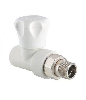 Клапан радиаторный полипропиленовый прямой